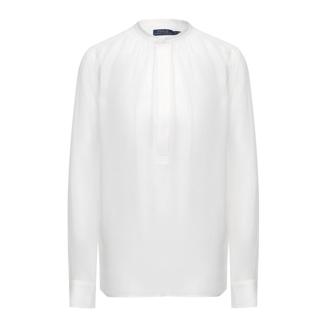 Блузка из шелка и вискозы Polo Ralph Lauren