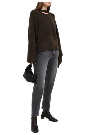 Женские джинсы NANUSHKA серого цвета, арт. KEMIA_WASHED GREY_RIGID DENIM | Фото 2