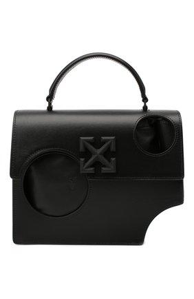Женская сумка 1.4 jitney OFF-WHITE черного цвета, арт. 0WNA113F20LEA0011000 | Фото 1