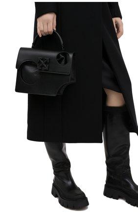 Женская сумка 1.4 jitney OFF-WHITE черного цвета, арт. 0WNA113F20LEA0011000 | Фото 2