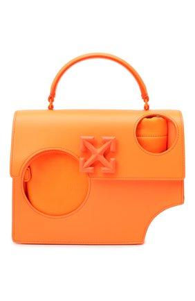 Женская сумка 1.4 jitney OFF-WHITE оранжевого цвета, арт. 0WNA113F20LEA0016600 | Фото 1