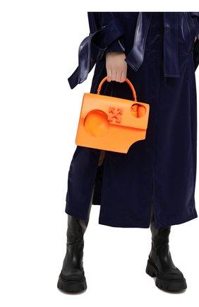 Женская сумка 1.4 jitney OFF-WHITE оранжевого цвета, арт. 0WNA113F20LEA0016600 | Фото 2