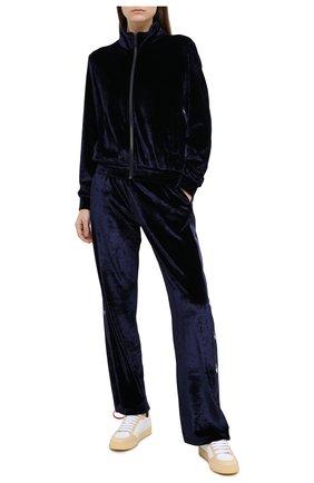 Женский кардиган из вискозы OFF-WHITE синего цвета, арт. 0WVL012F20FAB0014501 | Фото 2