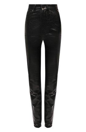 Женские джинсы SAINT LAURENT черного цвета, арт. 636871/Y09AB | Фото 1