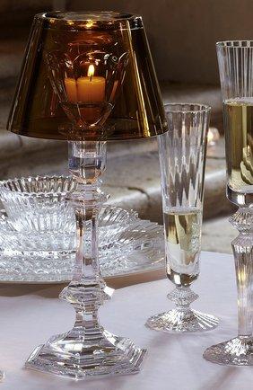 Мужского набор из 2-х фужеров для шампанского mille nuits на низкой ножке BACCARAT прозрачного цвета, арт. 2 811 795 | Фото 2