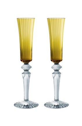 Мужского набор из 2-х фужеров для шампанского mille nuits BACCARAT оранжевого цвета, арт. 2 811 584 | Фото 1