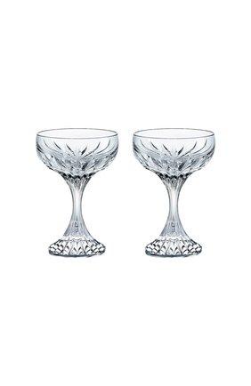 Набор из 2-х кубков для шампанского massena BACCARAT прозрачного цвета, арт. 2 811 796 | Фото 1