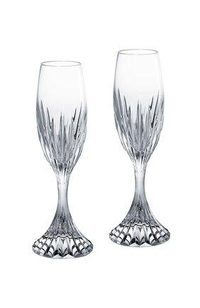 Набор из 2-х фужеров для шампанского massena BACCARAT прозрачного цвета, арт. 2 811 797 | Фото 1