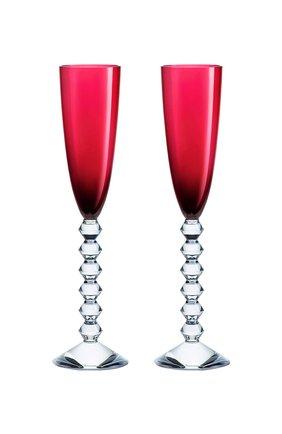 Мужского набор из 2-х фужеров для шампанского vega красных BACCARAT красного цвета, арт. 2 811 806 | Фото 1