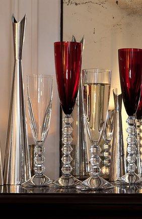 Мужского набор из 2-х фужеров для шампанского vega красных BACCARAT красного цвета, арт. 2 811 806 | Фото 2