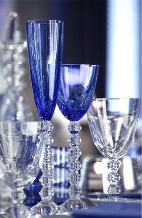 Набор из 2-х фужеров для шампанского veg BACCARAT голубого цвета, арт. 2 811 804 | Фото 2