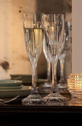 Мужского набор из 2-х фужеров для шампанского jupiter BACCARAT прозрачного цвета, арт. 2 610 577 | Фото 2