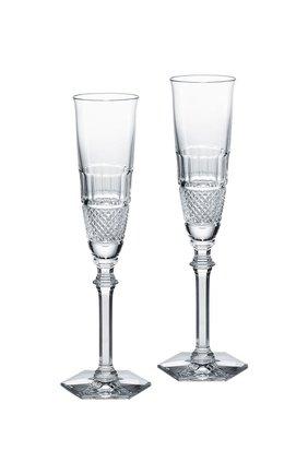 Набор из 2-х фужеров для шампанского diamant BACCARAT прозрачного цвета, арт. 2 807 400 | Фото 1