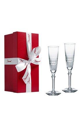 Набор из 2-х фужеров для шампанского diamant BACCARAT прозрачного цвета, арт. 2 807 400 | Фото 2