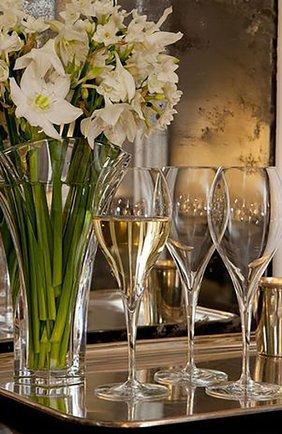 Набор из 2-х фужеров для шампанского oenologie BACCARAT прозрачного цвета, арт. 2 100 297 | Фото 2