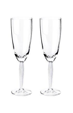 Мужского набор из 2-х фужеров для шампанского louvre LALIQUE прозрачного цвета, арт. 1733800 | Фото 1