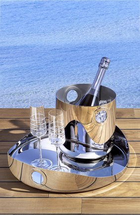 Фужер для шампанского graphik CHRISTOFLE прозрачного цвета, арт. 07945010   Фото 2