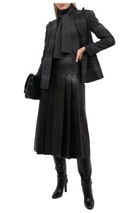 Женский кашемировый пуловер RALPH LAUREN серого цвета, арт. 290822959 | Фото 2