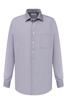 Мужская хлопковая рубашка ETON синего цвета, арт. 1000 01357   Фото 1