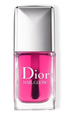 Лак для ногтей с эффектом французского маникюра dior nail glow (10ml) DIOR бесцветного цвета, арт. F002707000 | Фото 1 (Ограничения доставки: flammable)