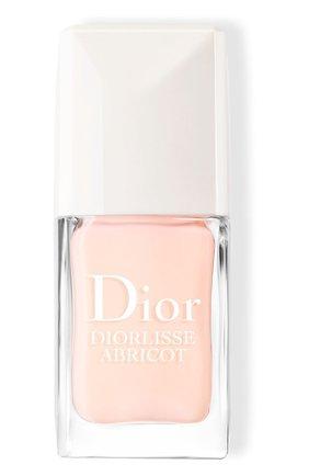 Выравнивающий лак для ногтей diorlisse abricot, 800 розовый снег DIOR бесцветного цвета, арт. F002812800 | Фото 1
