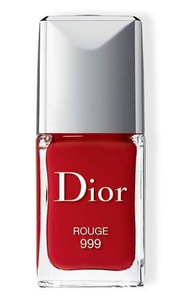 Лак для ногтей rouge dior vernis, 999 красный DIOR бесцветного цвета, арт. F000355999 | Фото 1