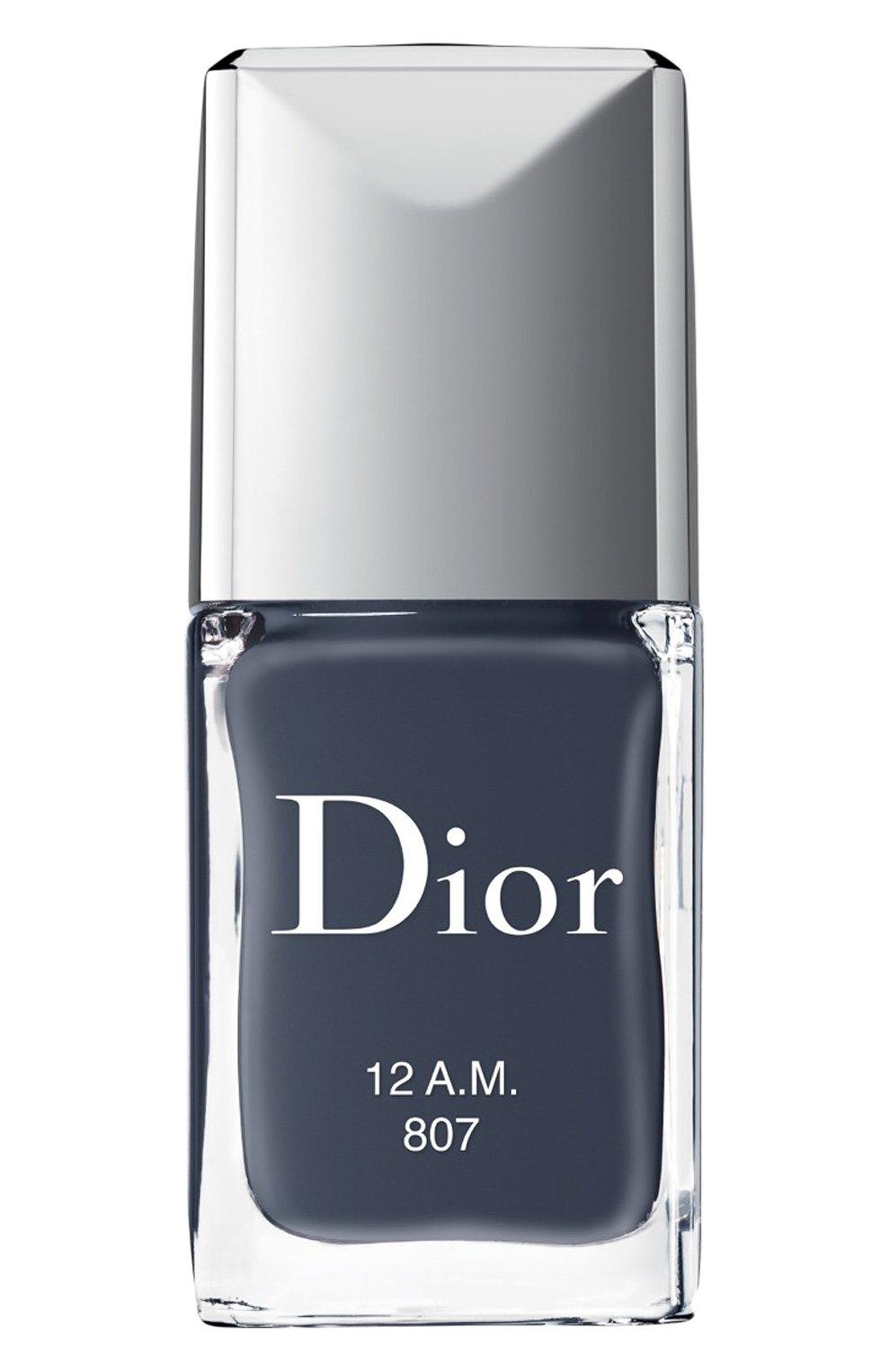 Женский лак для ногтей rouge dior vernis, 807 полночь DIOR бесцветного цвета, арт. F000355807 | Фото 1