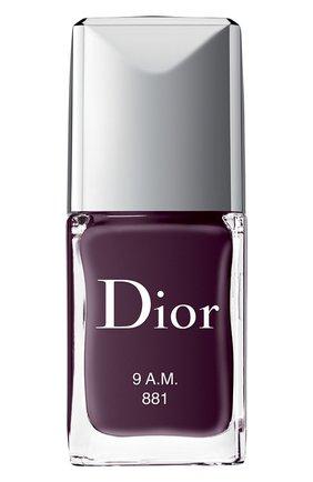 Женский лак для ногтей rouge dior vernis, 881 9 a.m. DIOR бесцветного цвета, арт. F000355881 | Фото 1