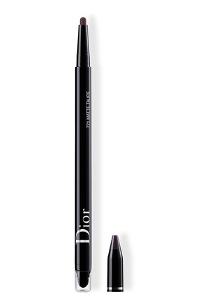 Женские подводка для глаз diorshow 24h stylo, 771 матовый серо-коричневый DIOR бесцветного цвета, арт. C014300771 | Фото 1