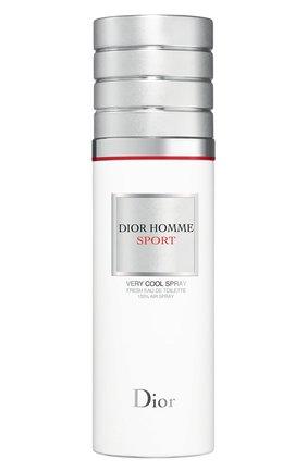 Мужской туалетная вода dior homme sport very cool spray (100ml) DIOR бесцветного цвета, арт. C099600057 | Фото 1 (Ограничения доставки: flammable)