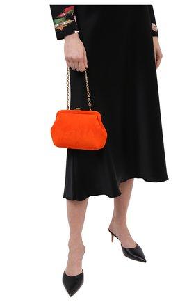 Женская сумка ULYANA SERGEENKO оранжевого цвета, арт. BRS060CLASSX 0456с | Фото 2