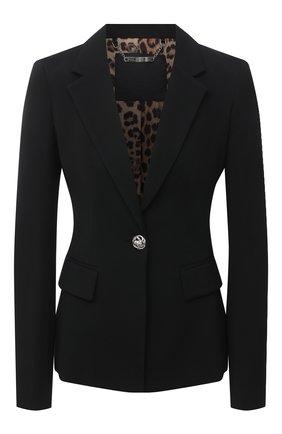 Женский жакет PHILIPP PLEIN черного цвета, арт. F20C WRF0363 PTE138N | Фото 1