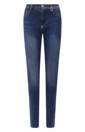 Женские джинсы PHILIPP PLEIN серого цвета, арт. F20C WDT1421 PDE004N | Фото 1