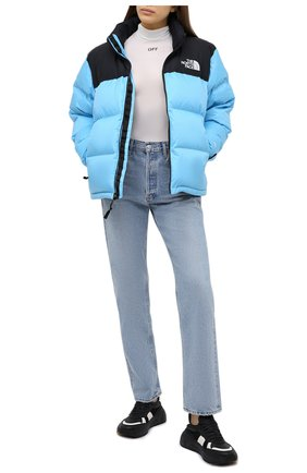 Женский куртка THE NORTH FACE синего цвета, арт. TA3XEOL8P | Фото 2