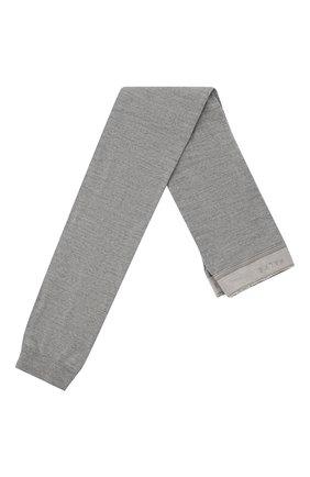 Женские леггинсы FALKE светло-серого цвета, арт. 48475 | Фото 1 (Материал внешний: Шерсть)