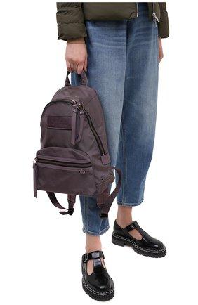 Женский рюкзак the backpack medium MARC JACOBS (THE) фиолетового цвета, арт. M0016065 | Фото 2