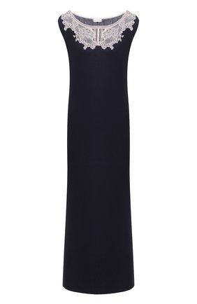 Женская сорочка GIANANTONIO PALADINI темно-синего цвета, арт. W01UC02/L | Фото 1