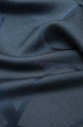 Женская шаль из шелка и шерсти VALENTINO синего цвета, арт. UW0EB104/ZVG | Фото 2