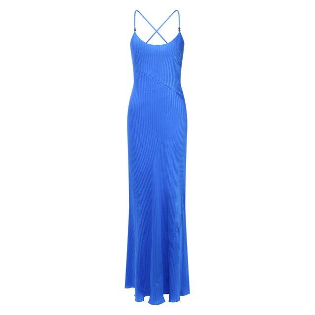 Шелковое платье Galvan London
