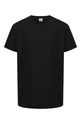 Женская хлопковая футболка ELEVENTY черного цвета, арт. B80TSHB02 TES0B218 | Фото 1