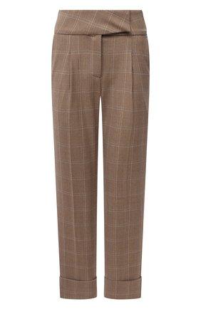 Женские шерстяные брюки ELEVENTY бежевого цвета, арт. B80PANB03 TES0B140 | Фото 1
