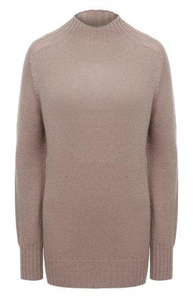 Женский кашемировый свитер MOORER бежевого цвета, арт. FIEMME-CWS/A20MW03CA22   Фото 1