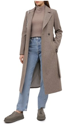 Женский кашемировый свитер MOORER бежевого цвета, арт. FIEMME-CWS/A20MW03CA22   Фото 2