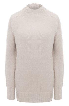 Женский кашемировый свитер MOORER серого цвета, арт. FIEMME-CWS/A20MW03CA22   Фото 1