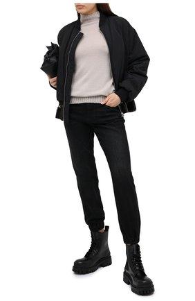 Женский кашемировый свитер MOORER серого цвета, арт. FIEMME-CWS/A20MW03CA22   Фото 2