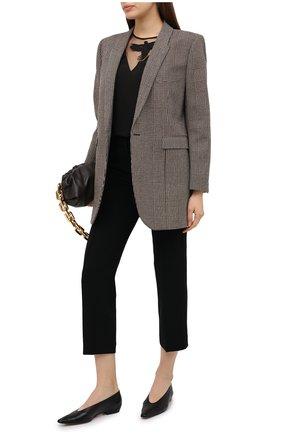 Женские брюки MICHAEL MICHAEL KORS черного цвета, арт. MF03HE3ENX | Фото 2