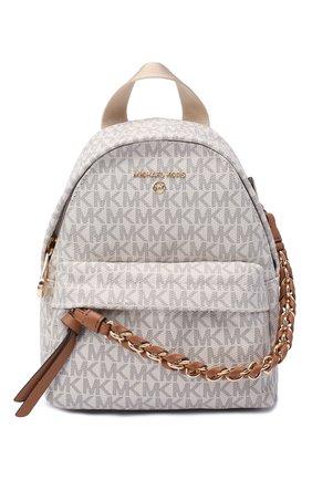 Женский рюкзак slater MICHAEL MICHAEL KORS кремвого цвета, арт. 30T0G04B0B | Фото 1