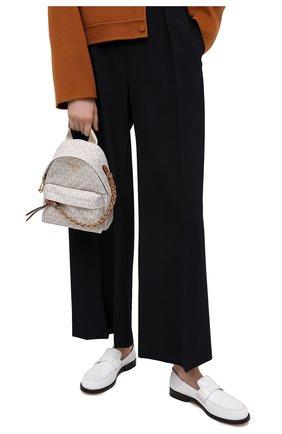 Женский рюкзак slater MICHAEL MICHAEL KORS кремвого цвета, арт. 30T0G04B0B | Фото 2