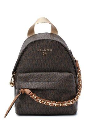 Женский рюкзак slater MICHAEL MICHAEL KORS коричневого цвета, арт. 30T0G04B0B | Фото 1