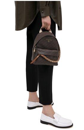 Женский рюкзак slater MICHAEL MICHAEL KORS коричневого цвета, арт. 30T0G04B0B | Фото 2
